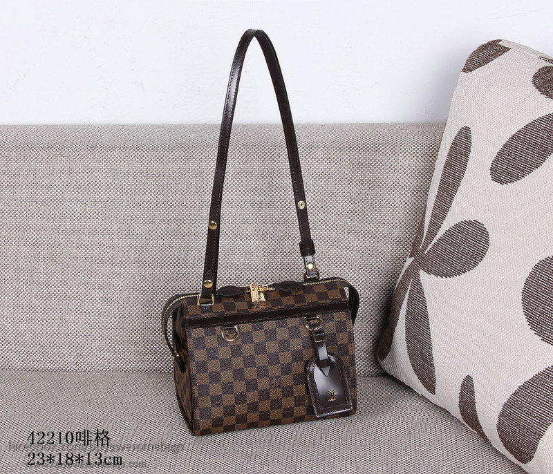 2db59d52f6ce Louis Vuitton Damier Ebene Canvas Speedy Amazon Bag PM N42210