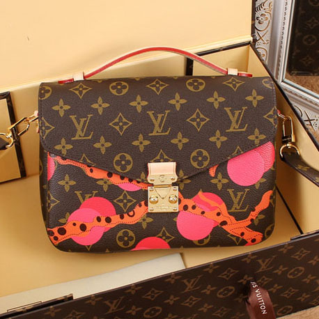 Louis Vuitton Monogram Canvas Pochette Metis Bag M40780