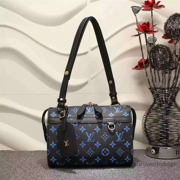 f23e15246eac Louis Vuitton Monogram Colours Canvas Speedy Amazon Bag Pm Noir M42210
