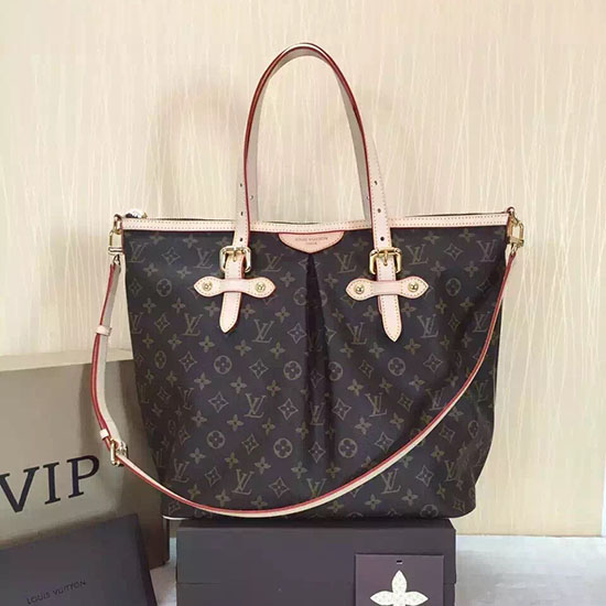 Louis Vuitton Monogram Canvas Palermo GM Bag M40146