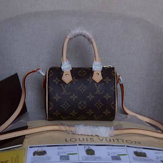 Louis Vuitton Monogram Canvas Nano Speedy M61252