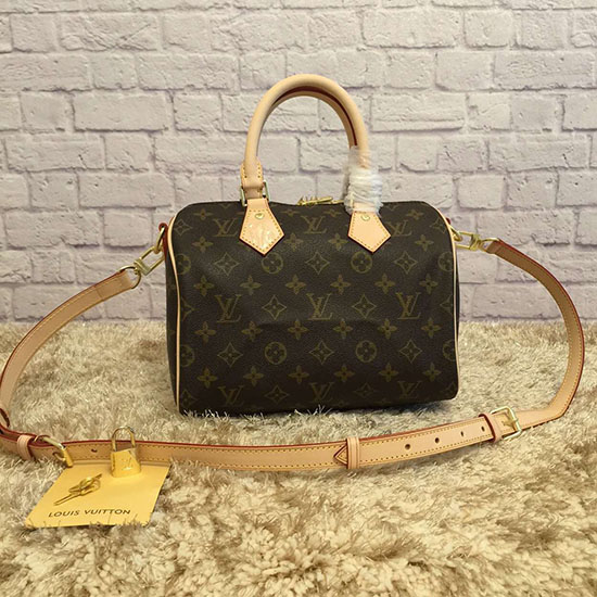 Louis Vuitton Monogram Canvas Speedy Bandouliere 25 M41113
