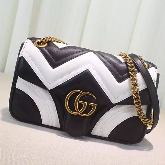 bf2246696f264b Gucci Marmont Bag Black And White | Stanford Center for Opportunity ...