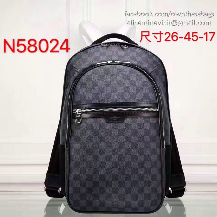 59b69264f273 Louis Vuitton Damier Graphite Canvas Backpack N58024   218.00  in ...