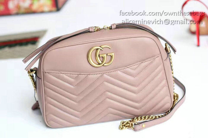 83f4f4dd3f90a3 Gucci Gg Marmont Matelasse Shoulder Bag 443499 | Stanford Center for ...