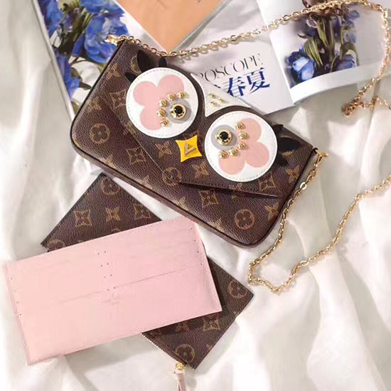 Louis Vuitton Monogram Canvas Pochette Felicie M62415