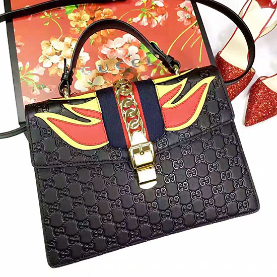 3ac38bda97c7 Gucci Sylvie Signature Bag 431665   Stanford Center for Opportunity ...