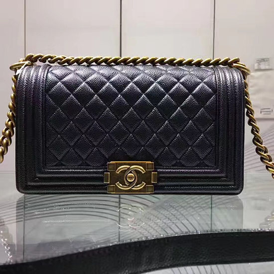 287afaff836aa0 Chanel Boy Handbag A67086 Black   Stanford Center for Opportunity ...
