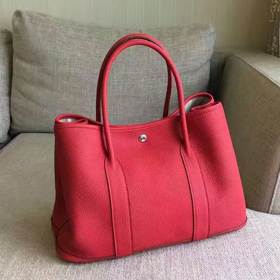 Hermes Garden Party 36 30 Tote Bag In Imported Togo