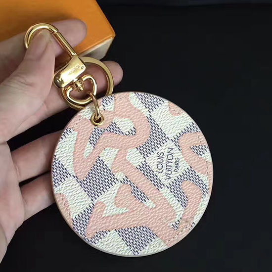 Louis Vuitton Illustre Tahitienne Bag Charm & Key Holder M61943