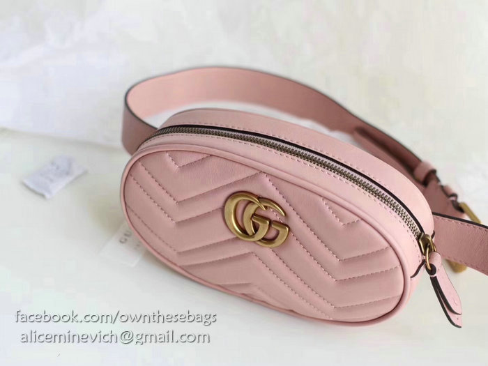 42fe0d603d8e Gucci Gg Marmont Belt Bag Pink | Stanford Center for Opportunity ...