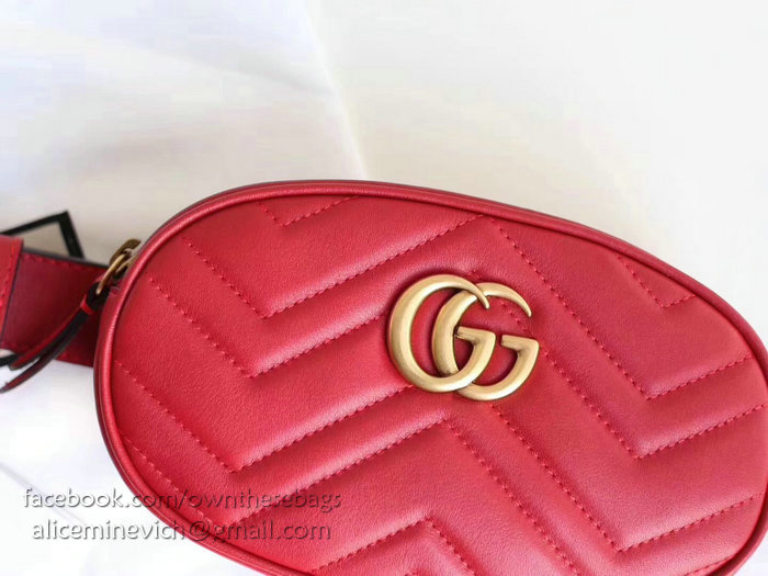 855960a972a7 Gucci Leather Belt Bag Red | Stanford Center for Opportunity Policy ...