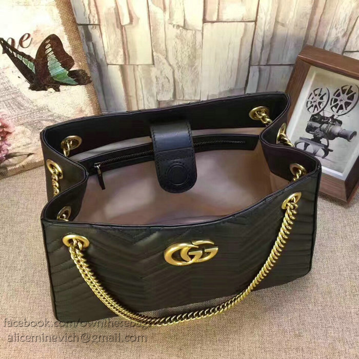 8c54e45b60a7 Gucci Gg Marmont Matelasse Shoulder Bag 453569 | Stanford Center for ...