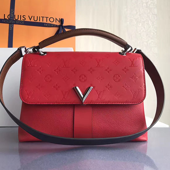 Louis Vuitton Very One Handle Red M42905