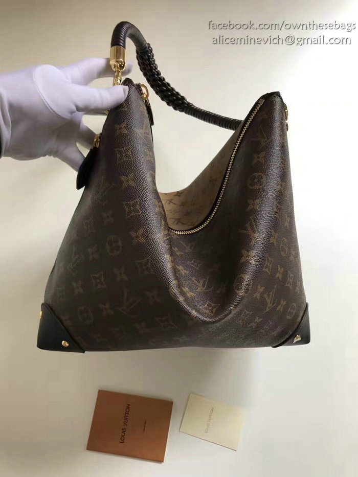 louis vuitton monogram canvas triangle softy m44130