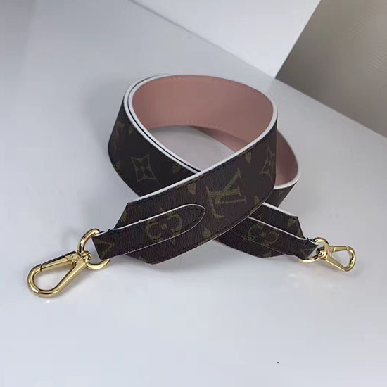 Louis Vuitton Bandouliere Monogram Shoulder Strap Pink J02287