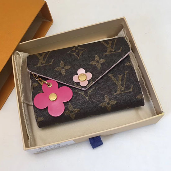 Louis Vuitton Monogram Canvas Victorine Wallet Fuchsia M62360
