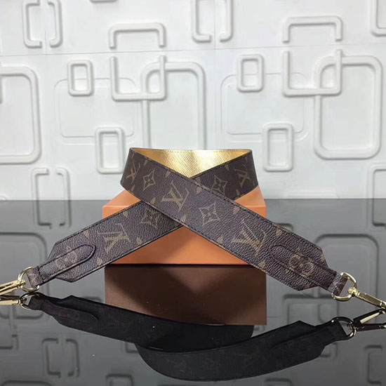 Louis Vuitton Bandouliere Monogram Shoulder Strap Gold J110903