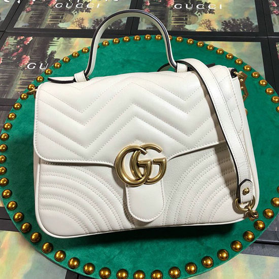 b36b0b531b3 Gucci Stirrup Bordeaux Leather Top Handle Bag In Purple Lyst For