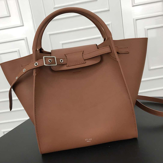 ec1ea6deee Celine Small Big Bag With Long Strap In Smooth Calfskin