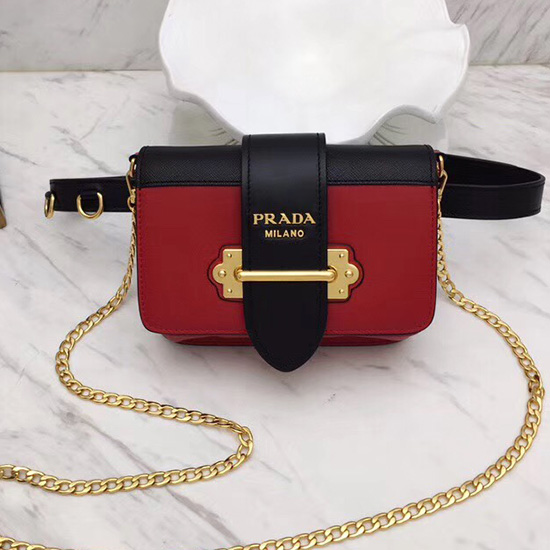 7e65e1b22b7b Prada Red Leather Belt Bag | Stanford Center for Opportunity Policy ...