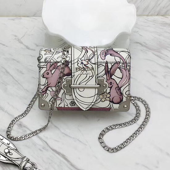 ccd4b0cca971 Prada Etiquette Printed Leather Bag Price | Stanford Center for ...