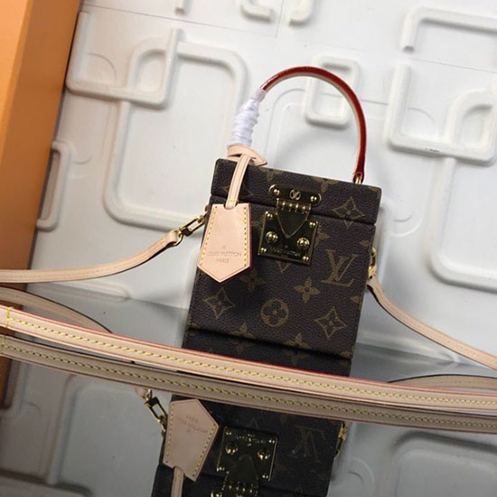 9080fedeada9 Louis Vuitton Monogram Canvas Bleecker Box M52466 ...